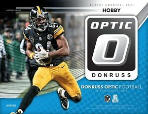2018 DONRUSS OPTIC FOOTBALL FACTORY SEALED HOBBY BOX - FREE SHIPPING