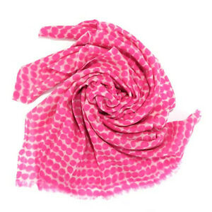 SEE DESIGN Scarf 2269 DROPS NEON PINK