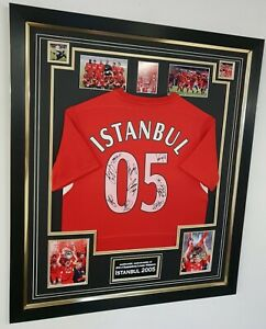 Rare Liverpool Signed ISTANBUL 2005 Shirt Autographed Jersey ** AFTAL DEALER COA