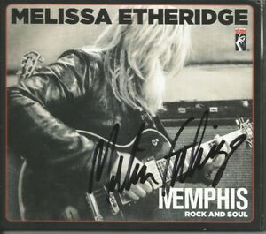 Memphis Rock and Soul * by Melissa Etheridge (CD 2016 Stax) Original Signed