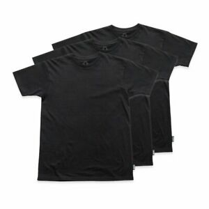 Grizzly T-Shirt Tagless 3 Pack Large Black
