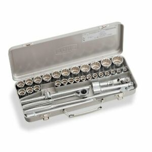 Tone Socket Wrench Set 12.7mm 12inch Drive 12-point 33 170m Japan
