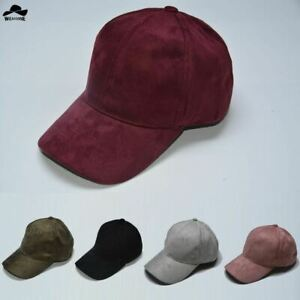 Fashion Suede Snapback Baseball cap New Gorras cap