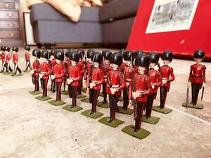 Britains 9424 CHANGING OF THE GUARD COMPLETE SET IN BOX vintage 1960s