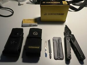 Leatherman Surge Black Oxide with Premium Leather and Nylon Sheaths