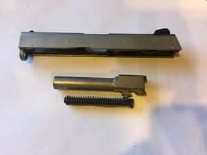 Smith & Wesson Sigma SW40VE .40 SW Pistol Slide Barrel Recoil Spring Stainless