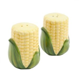 The Pioneer Woman Corn on the Cob Salt & Pepper Shaker Set Brand New