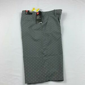 Under Armour Boys Shorts Golf Athletic Casual Shorts Gray Youth Size XL