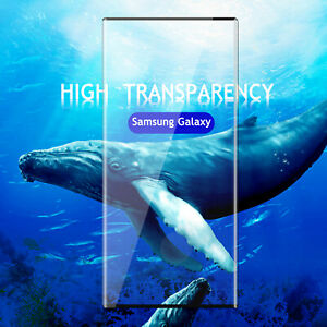 For Samsung Galaxy S10 PlusS10 Tempered Glass Screen Protector 9H Curved Cover