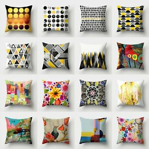 Throw Home Case Polyester 18#x27;#x27; Waist Cushion Sofa Pillow Cover Decor $2.56