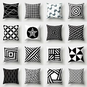 Polyester Waist Home Cover Cushion Pillow Throw Case Sofa 18#x27;#x27; Decor $2.56