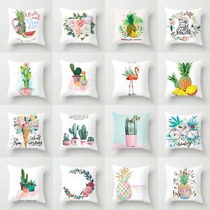 Case Decor Cushion Throw Home Waist Sofa Cover 18#x27;#x27; Pillow Polyester $2.37