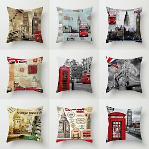Polyester Home Cover 18#x27;#x27; Pillow Decor Sofa Cushion Throw Case Waist $2.56