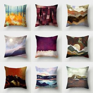 Pillow Polyester Home Waist Sofa Decor Case 18#x27;#x27; Cushion Cover Throw $2.56
