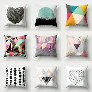 Waist 18#x27;#x27; Home Cover Cushion Sofa Case Polyester Pillow Throw Decor $2.56