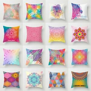 Cover Pillow 18#x27;#x27; Home Case Throw Decor Waist Sofa Polyester Cushion $2.56