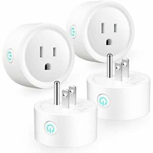 Smart Plug Outlet Switches WiFi Outlets Mini Socket For Home Remote Control
