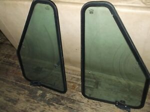 JOHN DEERE Cab Door Frame And Glass Early $150.00