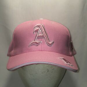 Letter A Hat Pink White Baseball Cap Unique Womens Gifts Ladies Hats T120 F9081