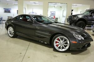 2006 Mercedes-Benz SLR McLaren 2dr Cpe 5.5L 2006 MERCEDES BENZ SLR - ONE OWNER RARE PALLADIUM GRAY WSILVER ARROW RED