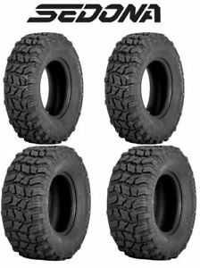 Sedona Coyote Complete Tire Set 27x9-12 Front & 27x11-12 Rear - Can-Am Commander