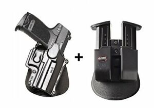 Fobus retention Holster + Double magazine pouch H&K usp compact 9mm .40  .45ca