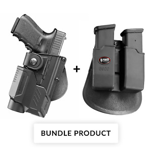 Fobus Holster + Double magazine mag pouch for glock 1722 tactical accessory