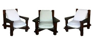 1960s Brasilian Design Vintage rodriguez Set of 3 Armchairs