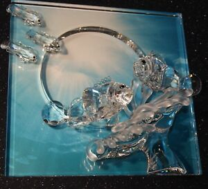 Swarovski Crystal SCS 2005 Wonders Of The Sea - Harmony Clear Signed New $450