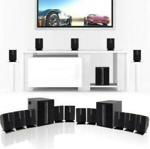 Surround Sound Speaker for TV 5.1 Channel Home Theater System with Subwoofer NEW