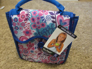 Fit & Fresh  Caitlin Chiller Insulated Lunch Tote/Bag  cool spring flowers new