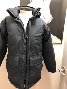 the NORTHFACE mens Designer deluxe down puffy goretex jacket S