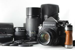 【MINT+++】Pentax 67 TTL late MUP w 105mm 120mm 300mm Lens More!! From JAPAN 315