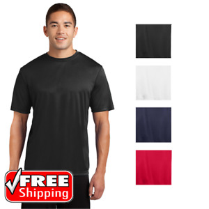 Mens Performance T-Shirt Cool Dri-Fit Activewear Base Layer Wicking Gym Tee 2029