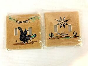 Light Switch Plate Southwest Style...Pair