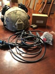 CPG Armor OPS-CORE FAST Maritime High Cut Ballistic Helmet ML DEVGRU With Coms
