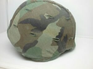 Authentic US Military PASGT Helmet M-1 with Cover Kevlar 80s