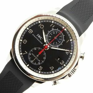 IWC Portugieser Automatic Stainless Steel Men's Dress Watch Yacht club Auth