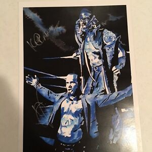WWE NXT Ascension Autograph Dual Signed Lithograph