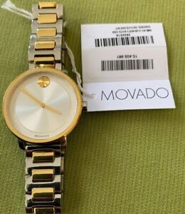 Movado Women's Swiss BOLD Two-Tone Stainless Steel Bracelet Watch