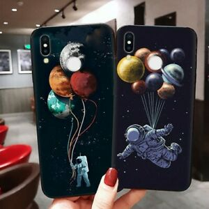 Luxury Matte TPU Space Case Cover For Huawei P8 P9 P10 P20 P30 Pro Mate 20 Lite