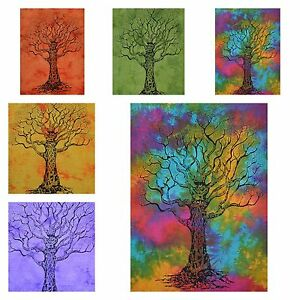 Wholesale Lot 20 Pcs Tapestry Tree Of Life Indian Wall Hanging Cotton Poster
