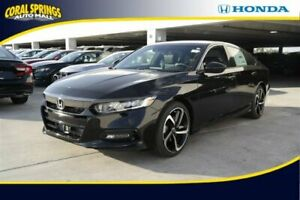 2019 Accord Sport 1.5T 2019 Honda Accord Sedan Still Night Pearl with 3 Miles available now!
