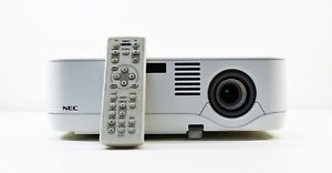 NEC NP300 LCD Projector Home Theater Multimedia 2200 ANSI Lumens 2233 LAMP HOURS