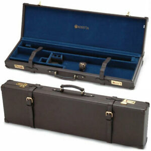 BERETTA SVPD104  LUGGAGE CASE FOR OU SHOTGUNS LEATHER BROWN