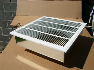 20quot;x20quot; furnace return air kitwith filter grillebox and 12quot; collar HVAC. $177.00