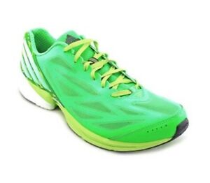 MEN'S ADIDAS CRAZY FAST RNR M RUNNING SHOES GREENBLACKSLIME G67157 SIZE 11