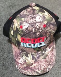 Rebel Lure Fishing Hat Mossy Oak Camo Adjustable Cap