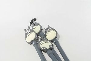 My Neighbor Totoro pen 4pcs cute grey umbrella no face mask .38 mm black ink