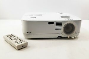 NEC NP300 LCD Projector Home Theater Multimedia 2200 ANSI Lumens 1618 LAMP HOURS